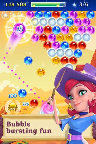 Bubble Witch 2 Saga app screenshot