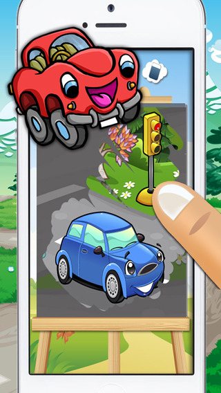 Cars karts and trucks - fun car minigames for kids