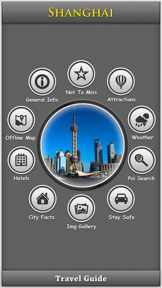 Shanghai Offline Map Travel Explorer