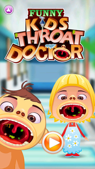 Funny Kid's Throat Doctor