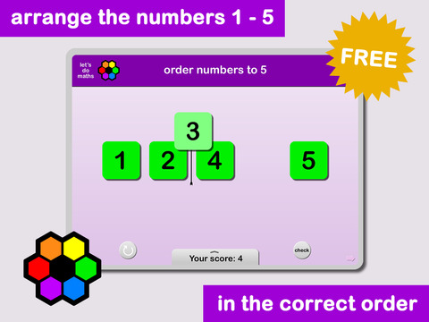Ordering Numbers to 5