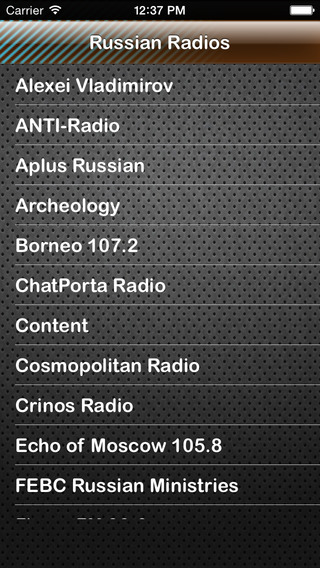 Russian Россия Rossija Radios