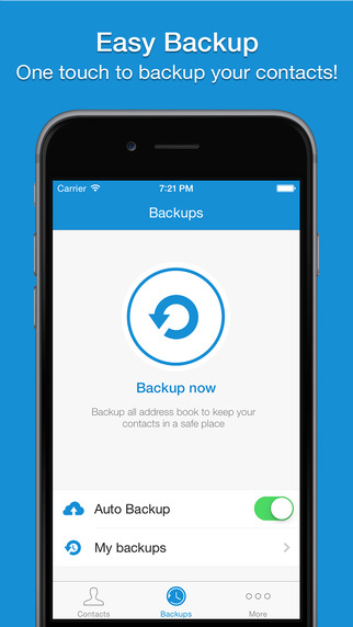 Easy Backup Pro - My Contacts Backup Assistant for