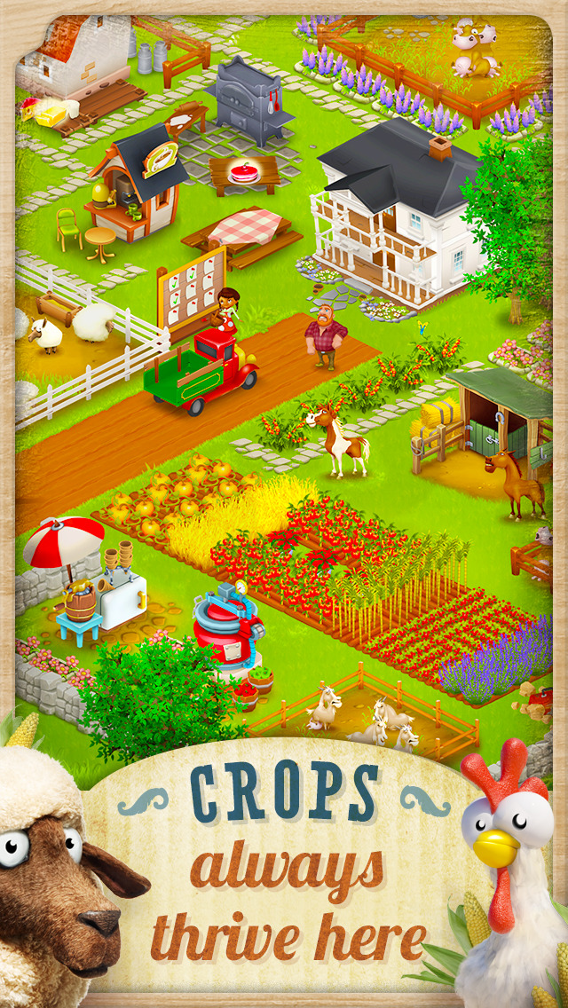 Image of Hay Day for iPhone