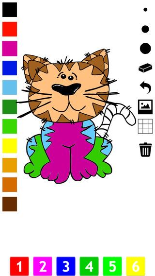 图画书 :猫儿童 学画画 猫