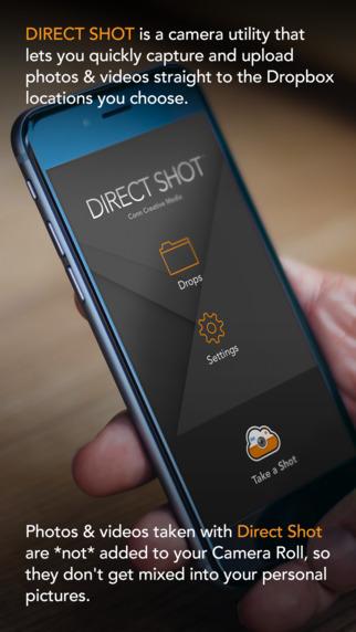 Direct Shot - 拍照并直接保存到 Dropbox 里[iOS][¥6→0]丨反斗限免