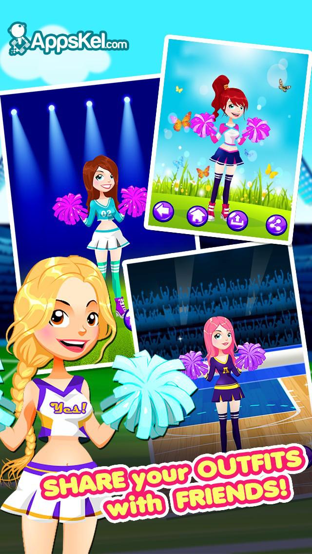App Shopper Cheerleaders Girls Dress Up All Star