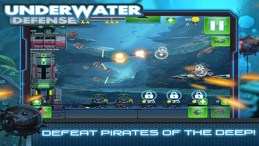 Underwater Defense - Shooting Submarine Addicted Free Game