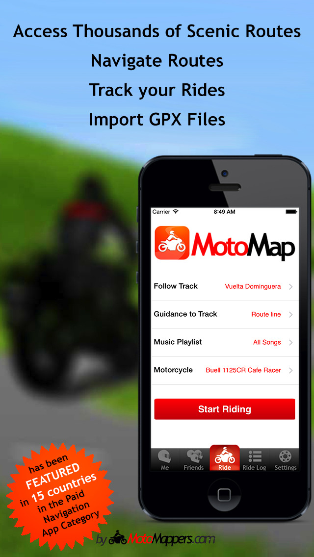 MotoMap - Motorcycle Navigation, Ride Tracking and Scenic ...
