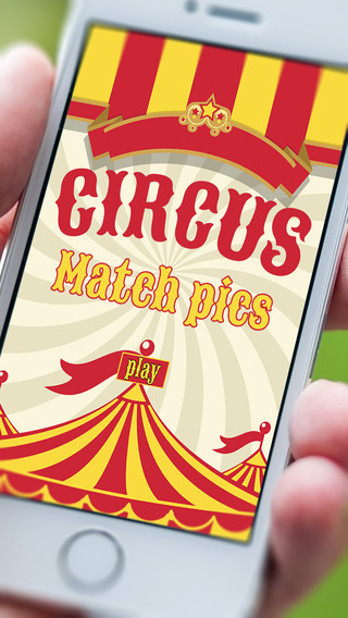 Amazing Circus Match Pictures - A kids memorization game