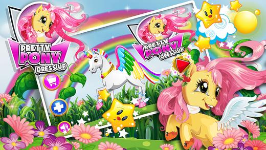 Pretty Pony Dress Up