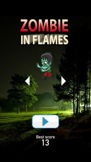 Zombie in Fire