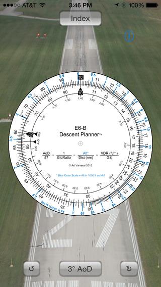 E6B Descent Planner