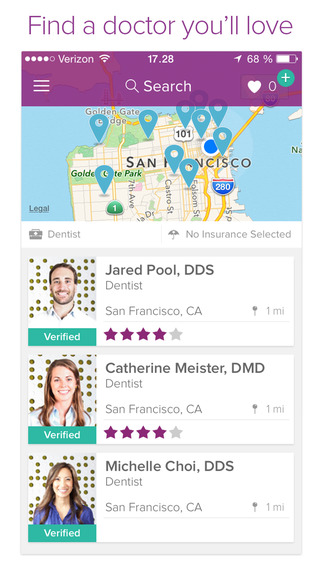 BetterDoctor - Find a Doctor You'll Love