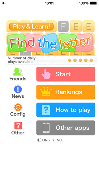 Find the letter Play Learn Series
