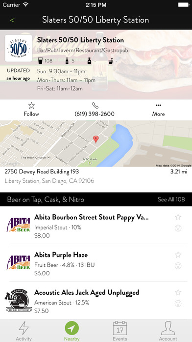 TapHunter - The Craft Beer Finder screenshot