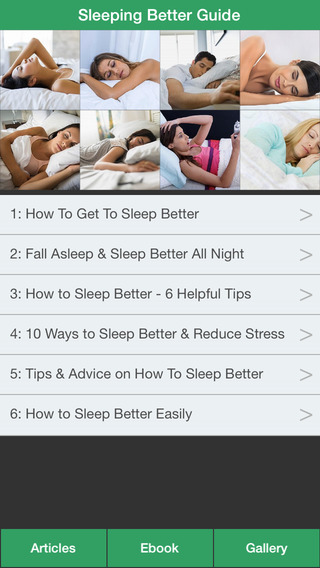 Sleeping Better Guide - Have a Better Sleep Every Night