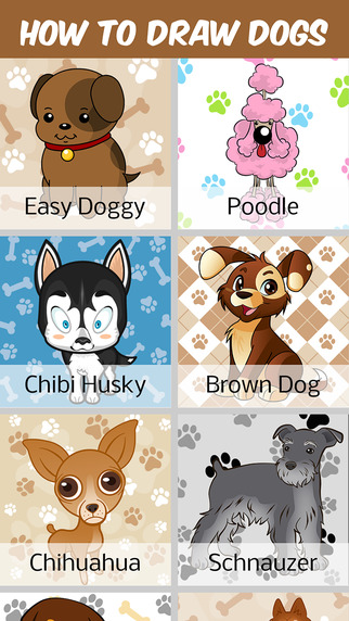 How to Draw Dogs and Puppys