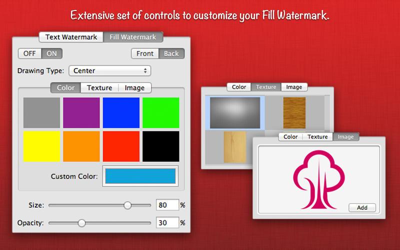 WatermarkPDF Screenshot - 3