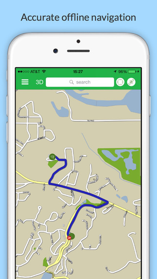 Turks Caicos GPS Map