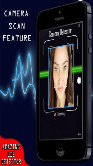 Amazing Lie Detector Free - 3in1 Fingerprint Camera Voice Scanner