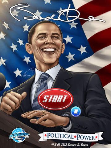 Political Power: Barack Obama by Blue Water Comics