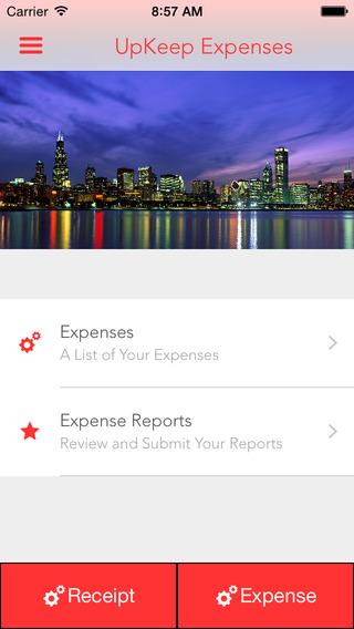 UpKeep Expenses - Business Travel Manager
