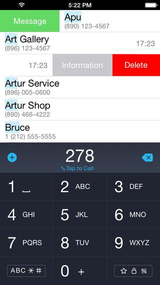 iCaller - 带 T9 键盘的通讯录电话应用[iPhone]丨反斗限免