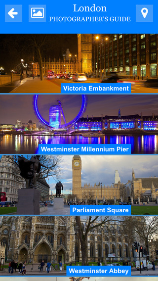 London Photographers Guide