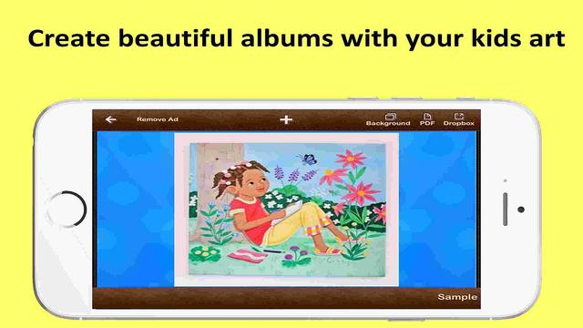 Artbook - Kids art memory book