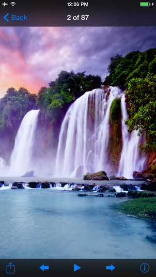 Waterfall Wallpapers HD ;