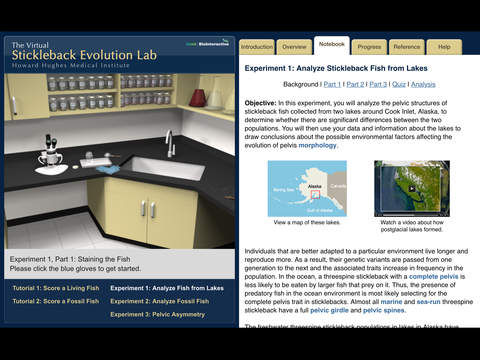 Stickleback Evolution Virtual Lab