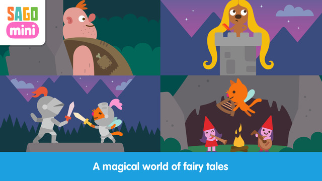 Sago Mini Fairy Tales Screenshots