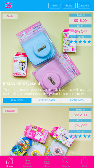 GizmoVille - Instax Accessories Shopping