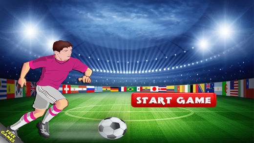 World Soccer Goalie Challenge Pro - All Star Football Mania