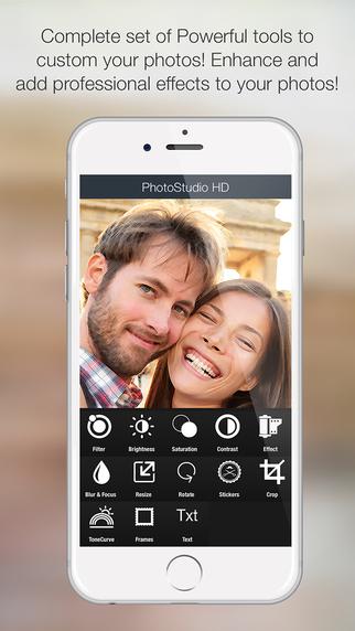 PhotoStudioHD - Professionals Set of Tools to Enhance your Photos