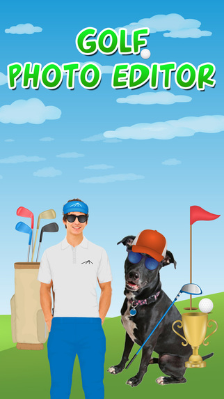 Golfer Dress Up Photo Editor