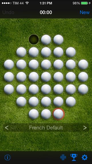 OnePeg (Peg solitaire) iPhone Screenshot 3