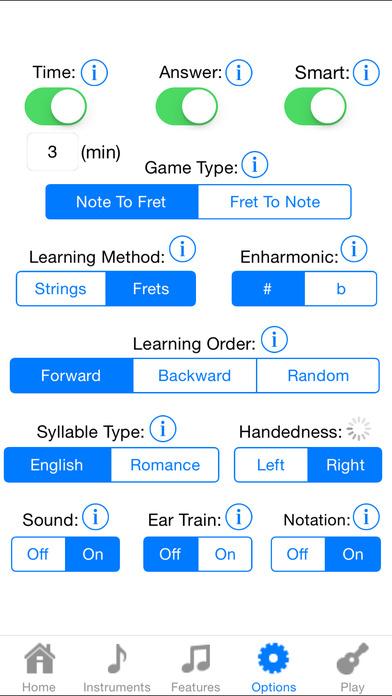 Ukulele Fretboard Addict FREE iPhone Screenshot 5