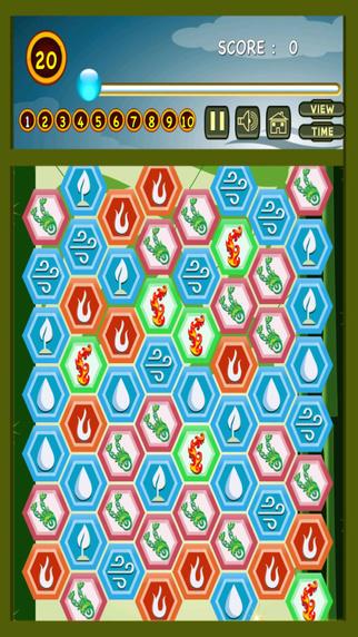 Four Elements Legend Blitz - Jewel Puzzle Match- Pro