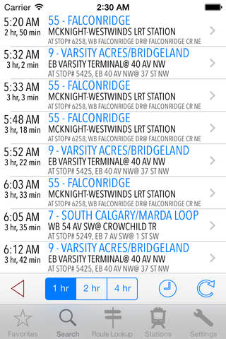 TransitAssist Calgary screenshot 4