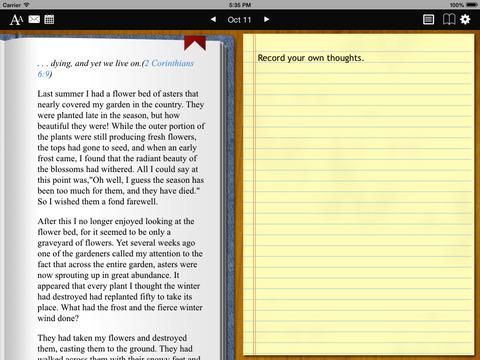 Streams in the Desert Devotional iPad Screenshot 1