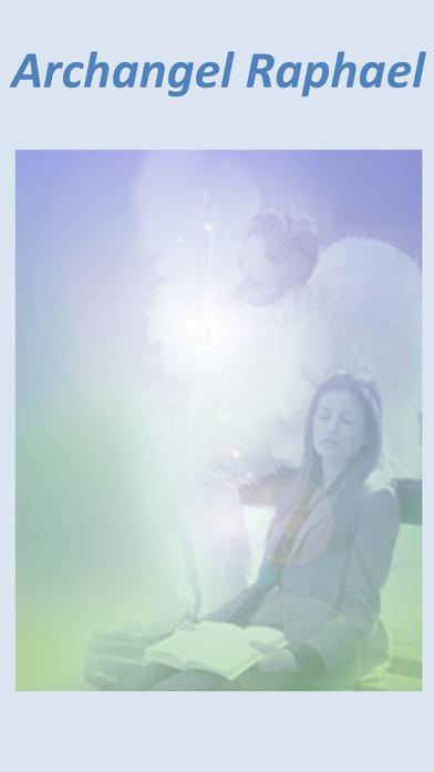 Angels Heal My Body by Jan Yoxall iPhone Screenshot 4