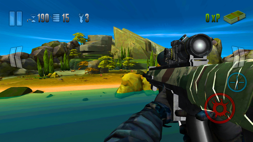 Dino Hunter Sniper