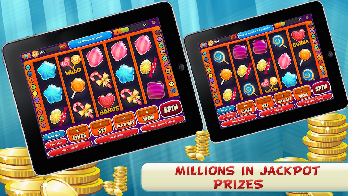 how to get free coins on jackpot party casino app