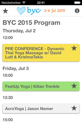 BYC Sessions 2015 screenshot 3