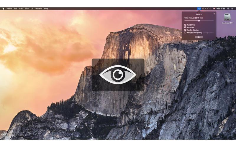 Blinks - 提醒你要眨眼睛啦[OS X]丨反斗限免