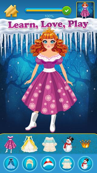 My Own Fab Snow Princess Fashion Copy Closet - Awesome Dress Salon For BFFs Free