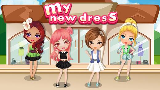 My New Dress - Girls Games