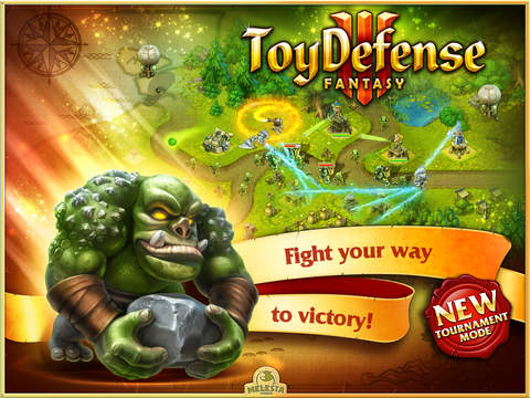 Toy Defense 3: Fantasy HD Free – strategy app screenshot